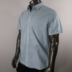 Michael Kors Rhone Blue Button down, Classic fit